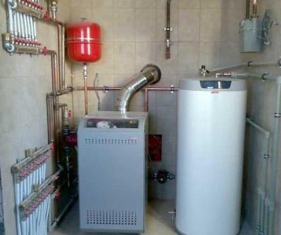 монтаж внутреннего газоснабжения дома
