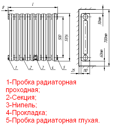 Схема плетения круглого темляка