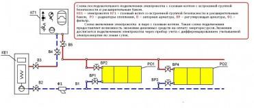 Подключение твердотопливного котла и электрокотла к системе отопления схема